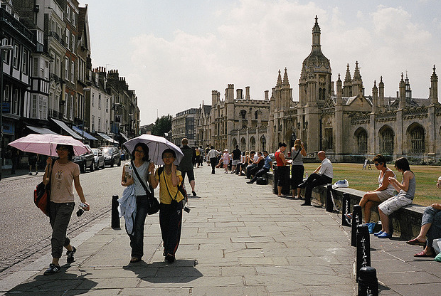 safest places to live in the uk - cambridge