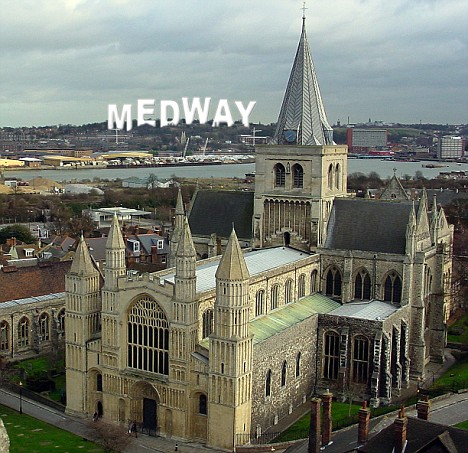 safest places to live in the uk - Medway