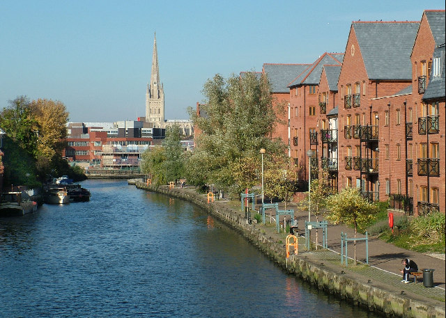 safest places to live in the uk - Norwich