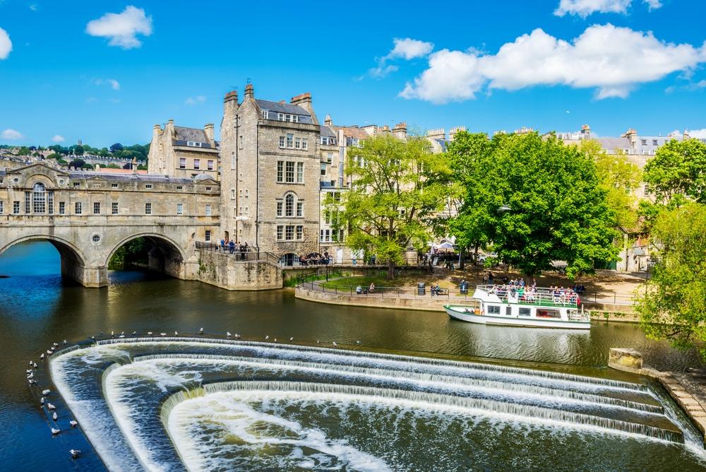 view-of-the-pulteney-bridge-river-avon-in-bath - Verisure Smart Alarms