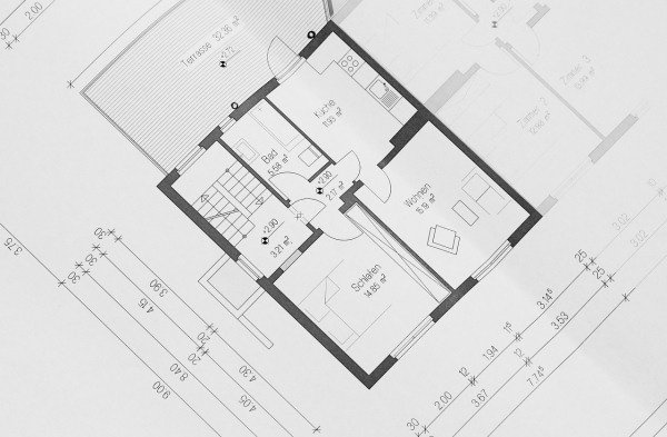 house plan for home security system