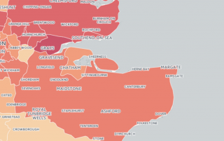 The burglary map of England & Wales - Verisure Smart Alarms