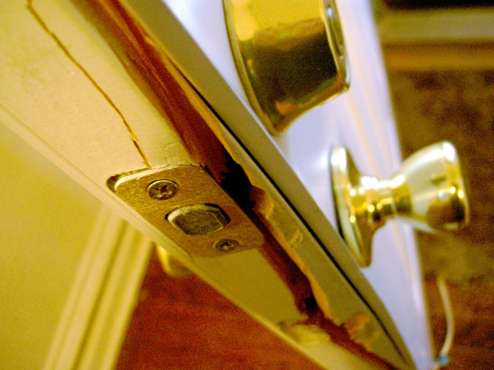 Are burglars opportunists?