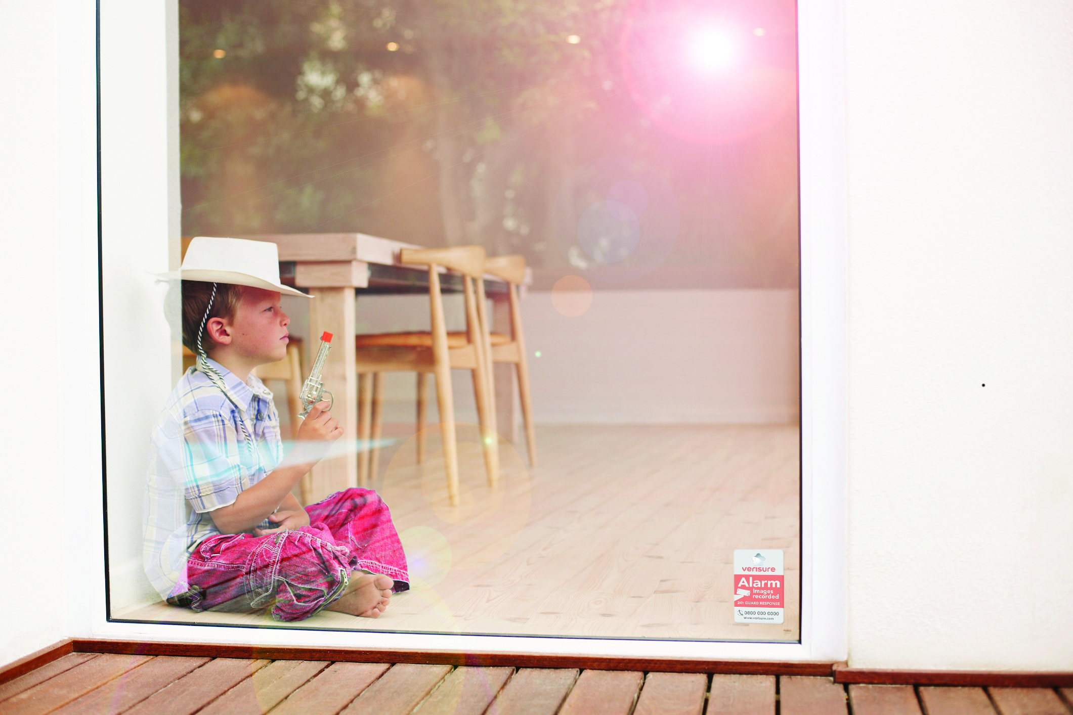 Secure your home for your children - Verisure Smart Alarms